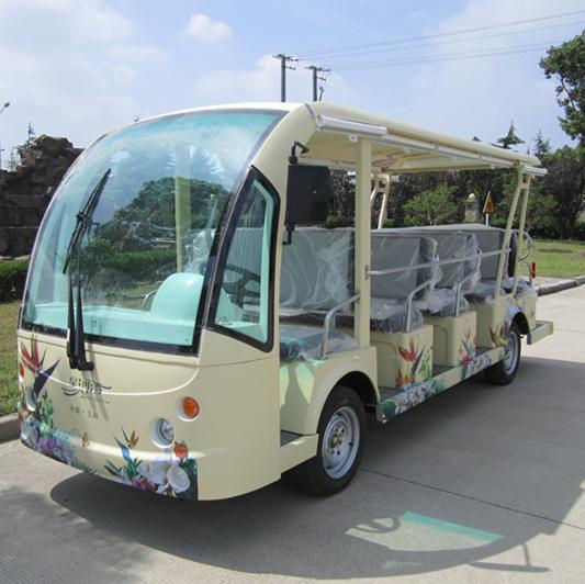 玛西尔14座电动观光车DN-14F